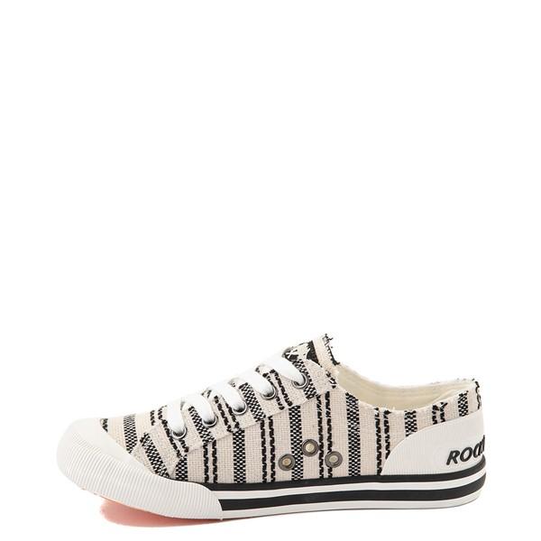 alternate view Womens Rocket Dog Jazzin Casual Shoe - Light Beige / StripedALT1