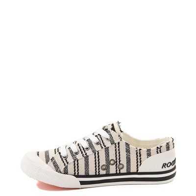 Alternate view of Womens Rocket Dog Jazzin Casual Shoe - Light Beige / Striped