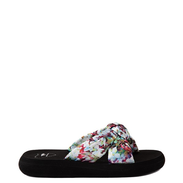 Womens Rocket Dog Slade Slide Sandal - Black / Floral