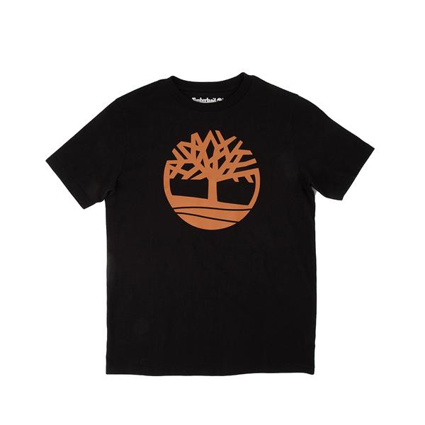 Main view of Timberland Tree Logo Tee - Little Kid / Big Kid - Black