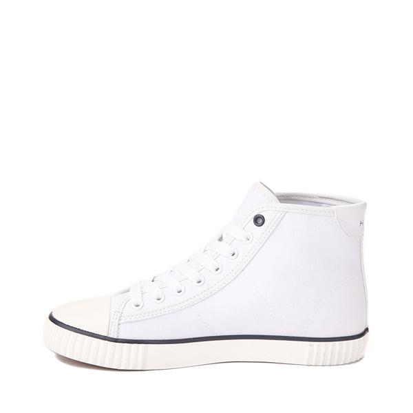 alternate view Womens Tommy Hilfiger Ender Hi Platform Sneaker - WhiteALT1
