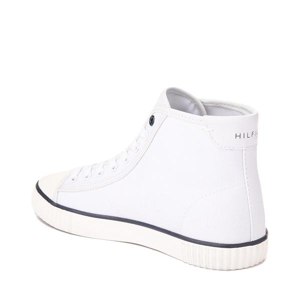 alternate view Womens Tommy Hilfiger Ender Hi Platform Sneaker - WhiteALT2