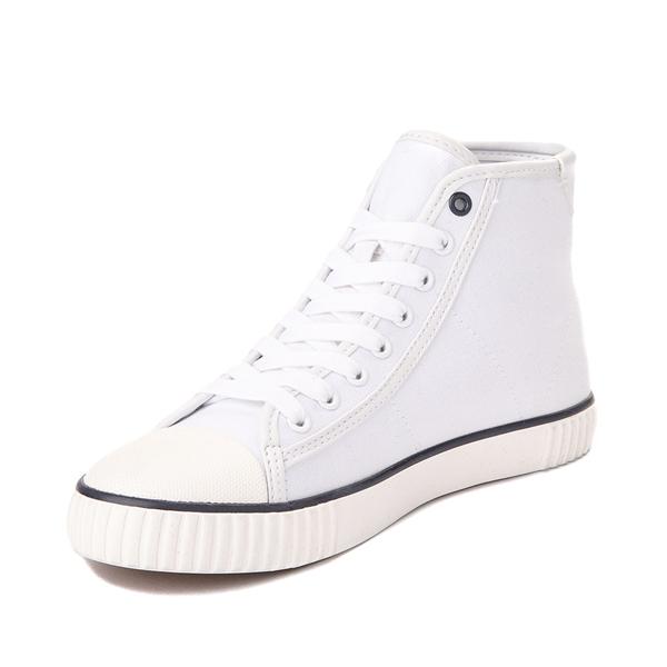 alternate view Womens Tommy Hilfiger Ender Hi Platform Sneaker - WhiteALT3