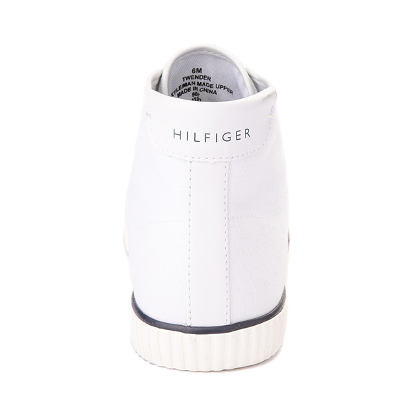 alternate view Womens Tommy Hilfiger Ender Hi Platform Sneaker - WhiteALT4