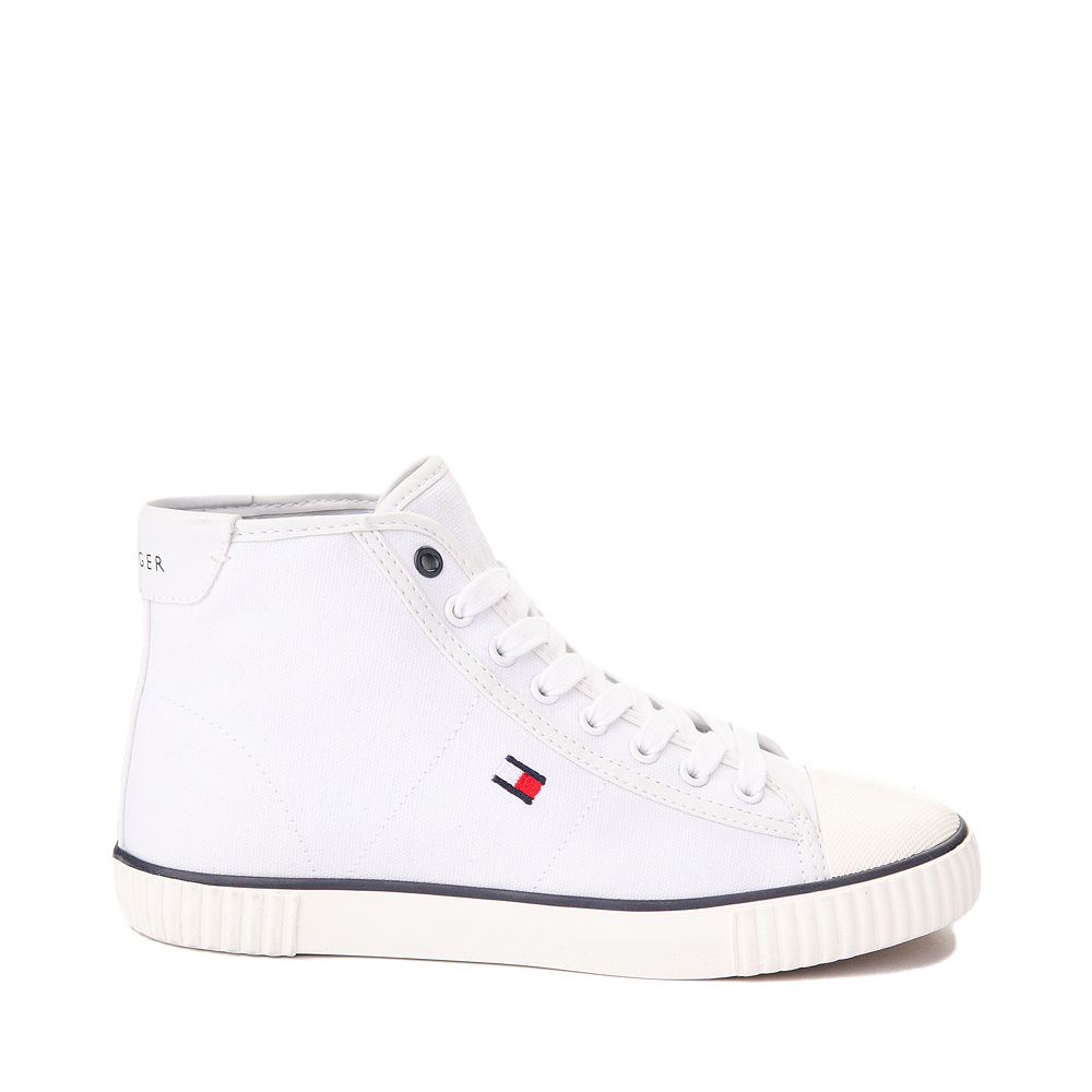 Womens Tommy Hilfiger Ender Hi Platform Sneaker - White