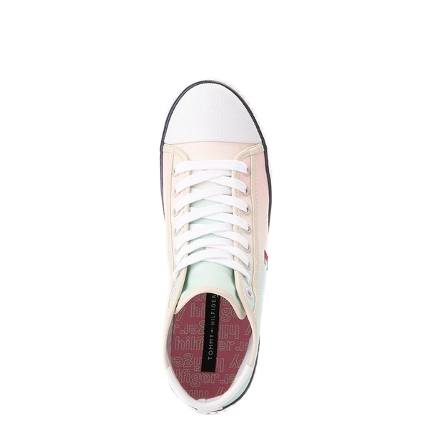 alternate view Womens Tommy Hilfiger Ender Hi Platform Sneaker - Pastel Multicolor / Chic PinkALT2