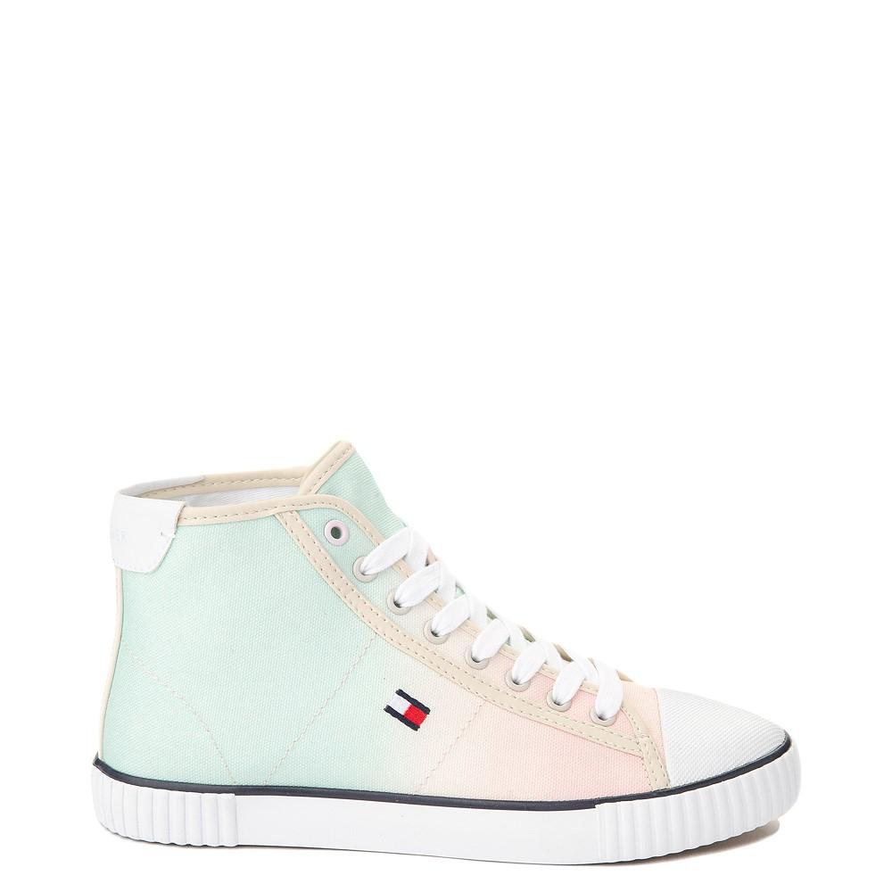 Womens Tommy Hilfiger Ender Hi Platform Sneaker - Pastel Multicolor / Chic Pink