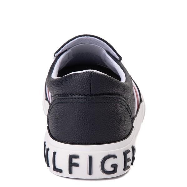 alternate view Womens Tommy Hilfiger Fin Slip On Casual Shoe - NavyALT4