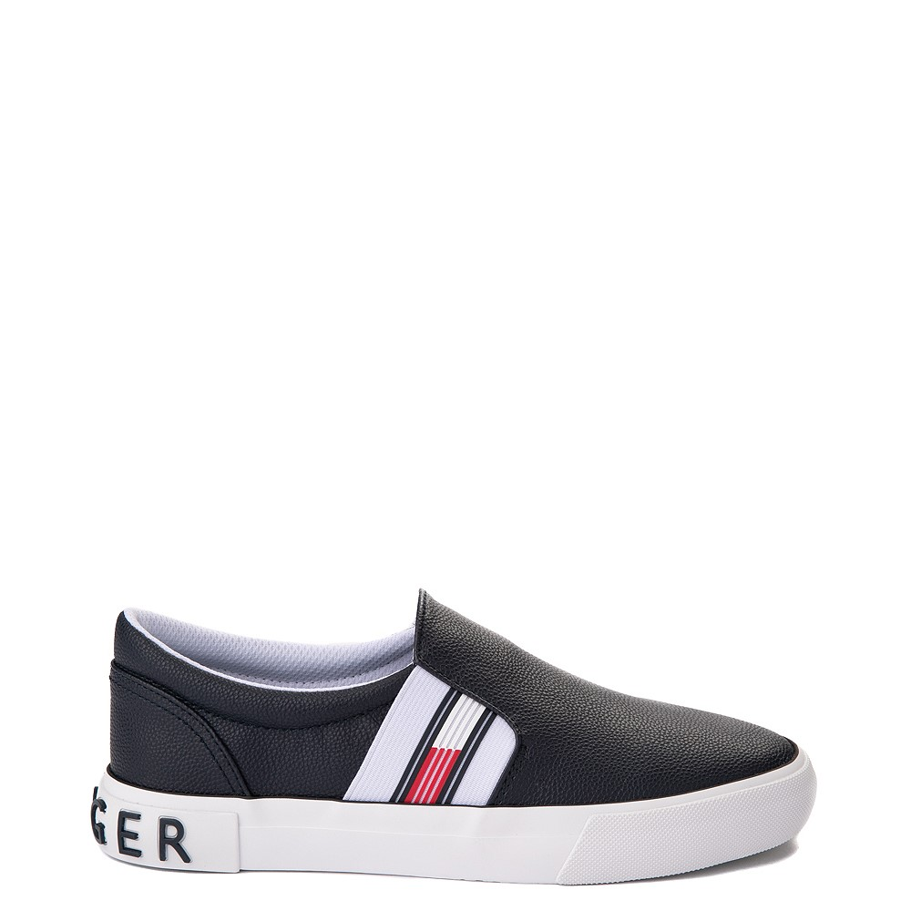 Womens Tommy Hilfiger Fin Slip On Casual Shoe - Navy