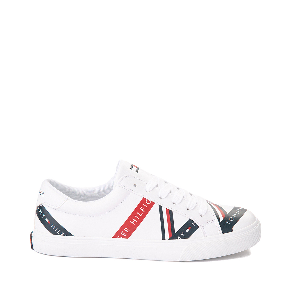 Womens Tommy Hilfiger Lacen Casual Shoe - White