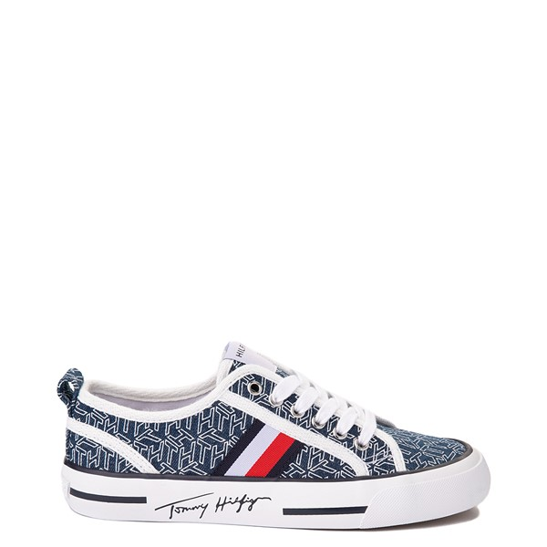 Womens Tommy Hilfiger Glorie Platform Casual Shoe - Blue