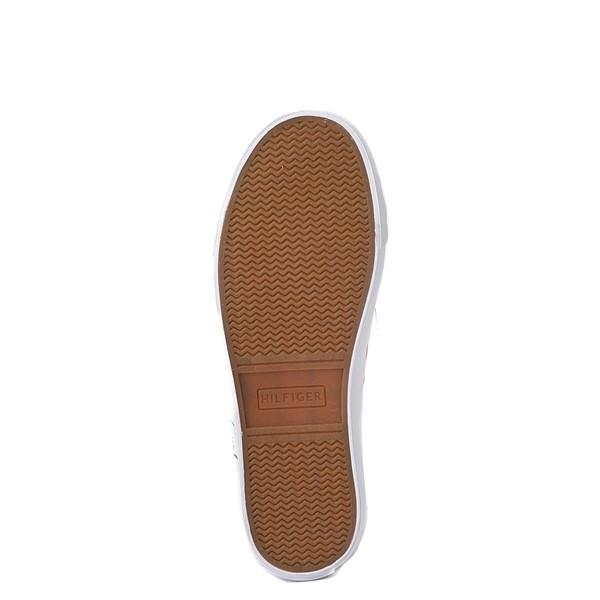 alternate view Womens Tommy Hilfiger Glorie Platform Casual Shoe - BlueALT3