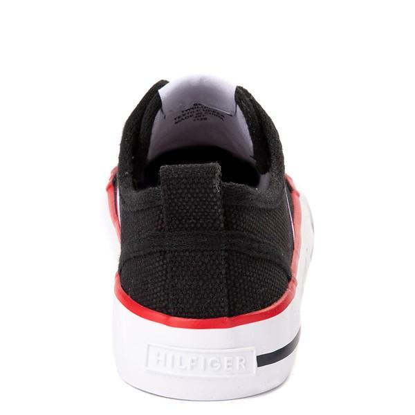 alternate view Womens Tommy Hilfiger Glorie Platform Casual Shoe - BlackALT4