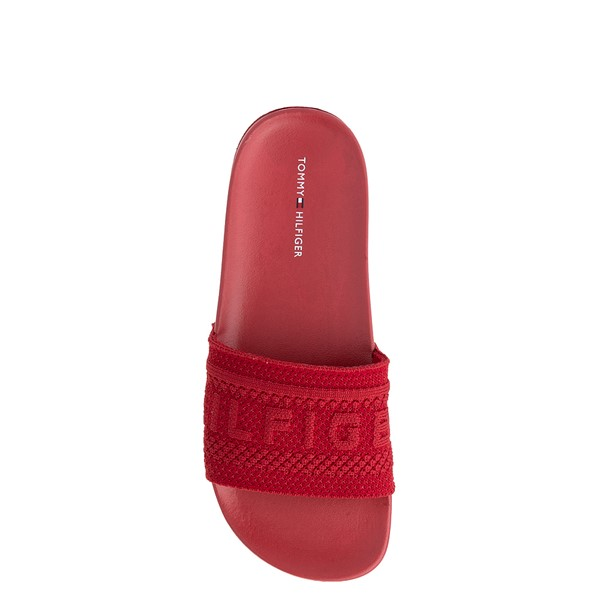 alternate view Womens Tommy Hilfiger Dollop Slide Sandal - RedALT1