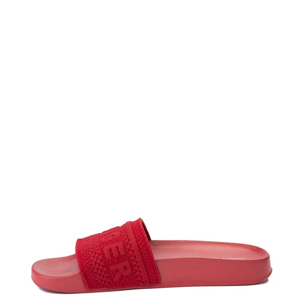 alternate view Womens Tommy Hilfiger Dollop Slide Sandal - RedALT2