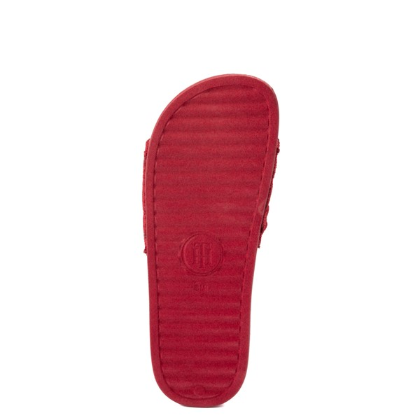 alternate view Womens Tommy Hilfiger Dollop Slide Sandal - RedALT3