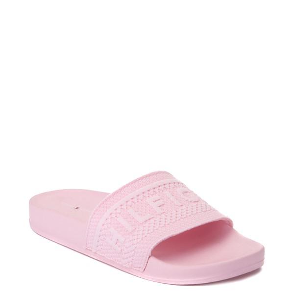 alternate view Womens Tommy Hilfiger Dollop Slide Sandal - Light PinkALT5