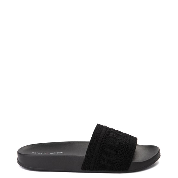 Main view of Womens Tommy Hilfiger Dollop Slide Sandal - Black