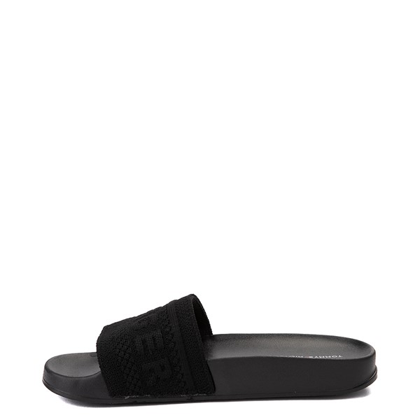 alternate view Womens Tommy Hilfiger Dollop Slide Sandal - BlackALT2