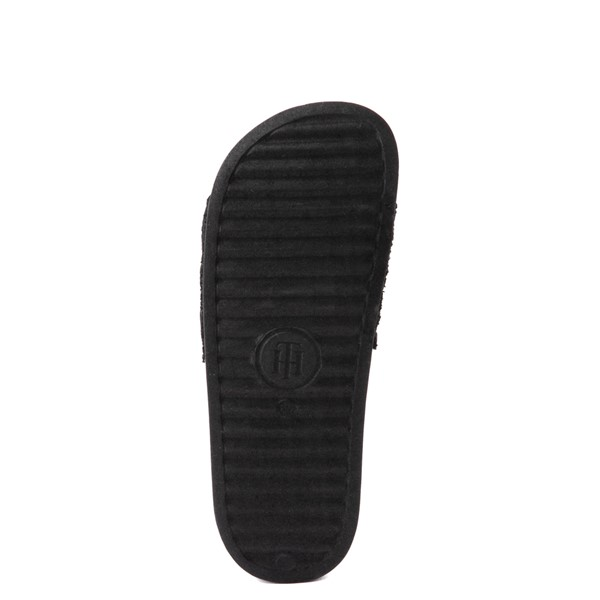 alternate view Womens Tommy Hilfiger Dollop Slide Sandal - BlackALT3