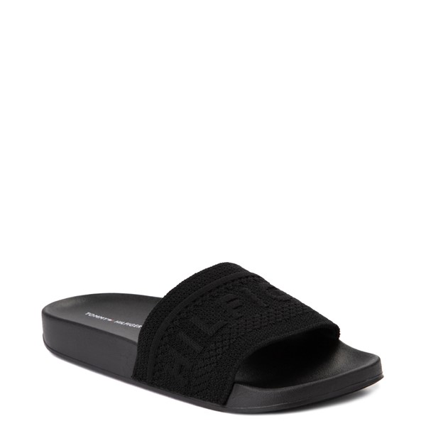 alternate view Womens Tommy Hilfiger Dollop Slide Sandal - BlackALT5