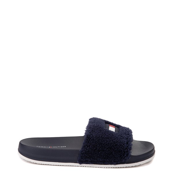 Main view of Womens Tommy Hilfiger Dezia Slide Sandal - Navy