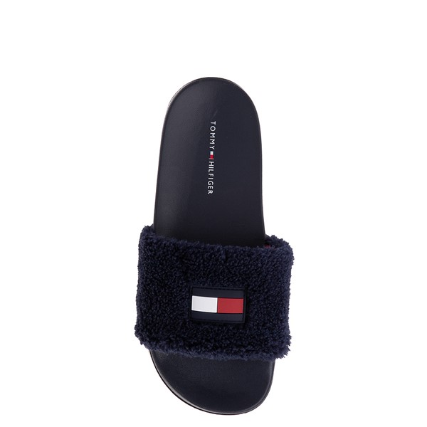 alternate view Womens Tommy Hilfiger Dezia Slide Sandal - NavyALT1