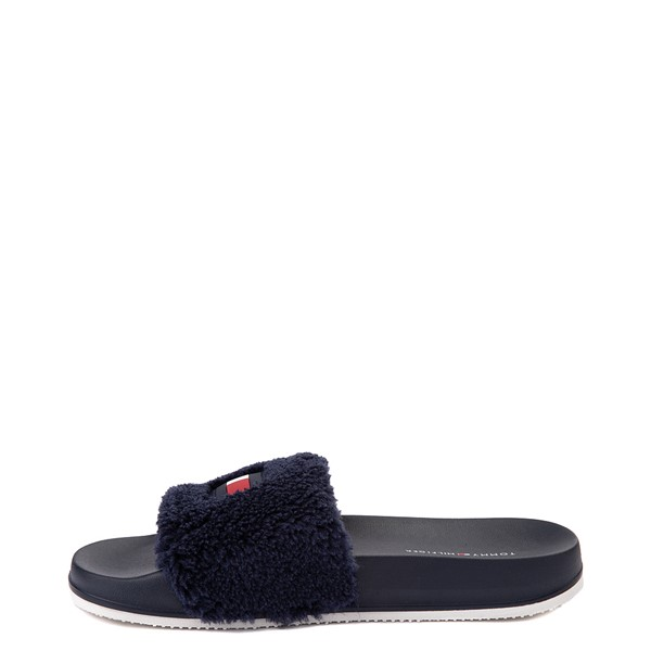 alternate view Womens Tommy Hilfiger Dezia Slide Sandal - NavyALT2