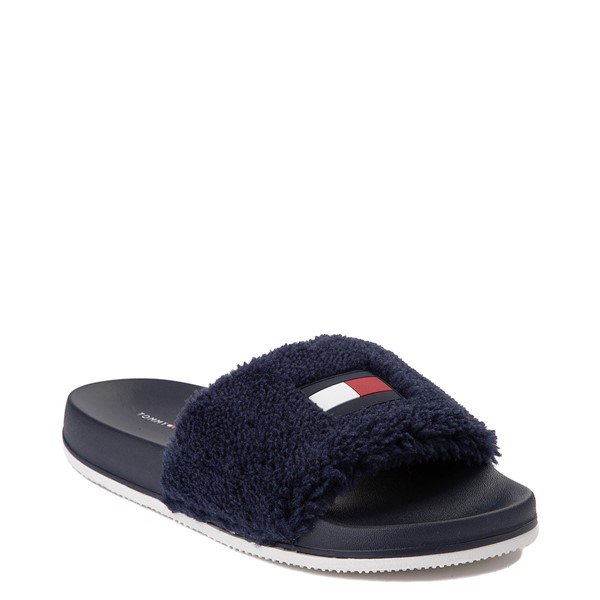 alternate view Womens Tommy Hilfiger Dezia Slide Sandal - NavyALT5