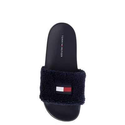 Alternate view of Womens Tommy Hilfiger Dezia Slide Sandal - Navy