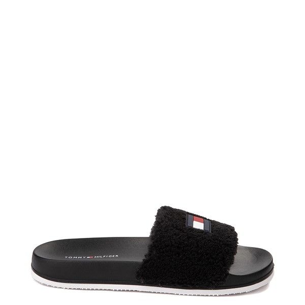 Womens Tommy Hilfiger Dezia Slide Sandal - Black