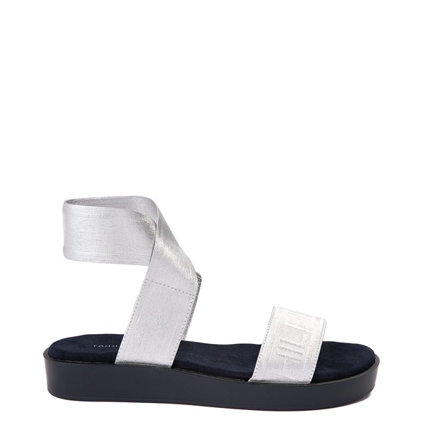 Main view of Womens Tommy Hilfiger Springi Sandal - Silver