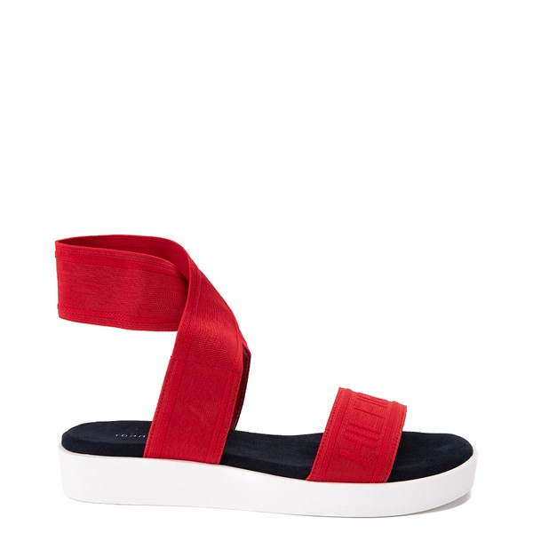 Main view of Womens Tommy Hilfiger Springi Sandal - Red