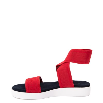 Alternate view of Womens Tommy Hilfiger Springi Sandal - Red