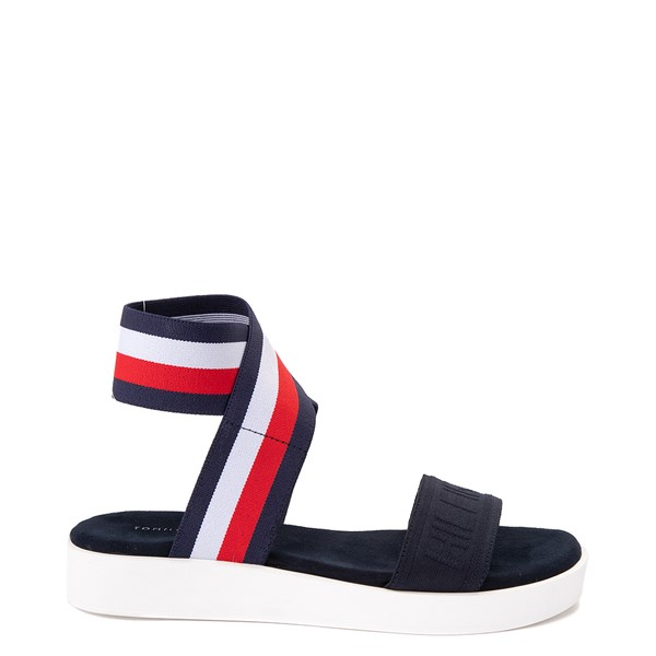 Main view of Womens Tommy Hilfiger Springi Sandal - Navy