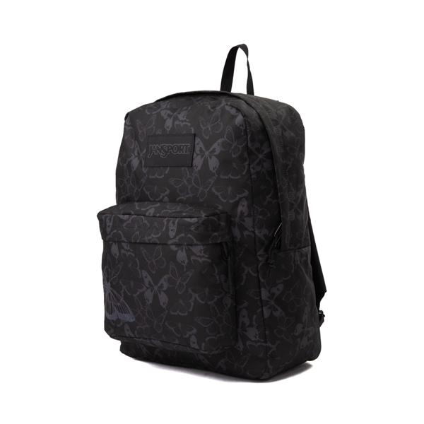 alternate view JanSport Superbreak Plus FX Pretty Wings Backpack - BlackALT4