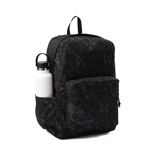 alternate view JanSport Superbreak Plus FX Pretty Wings Backpack - BlackALT4B