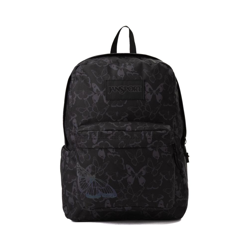 JanSport Superbreak Plus FX Pretty Wings Backpack - Black