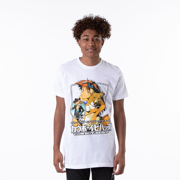 Main view of Mens Cowboy Bebop Edward Tee - White