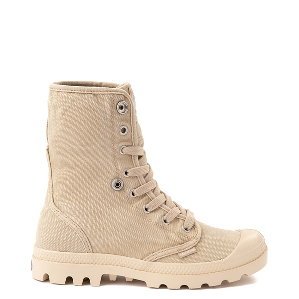 alternate view Womens Palladium Baggy Boot - Sahara / EcruALT1