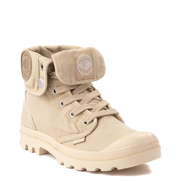 alternate view Womens Palladium Baggy Boot - Sahara / EcruALT5