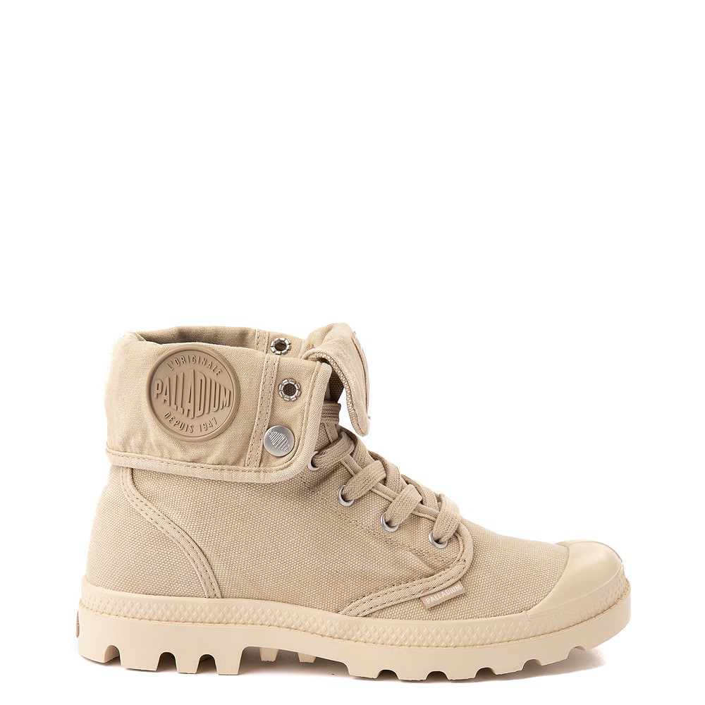 Womens Palladium Baggy Boot - Sahara / Ecru
