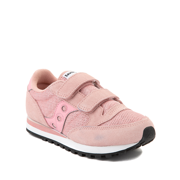 alternate view Saucony Jazz Athletic Shoe - Little Kid - PinkALT5