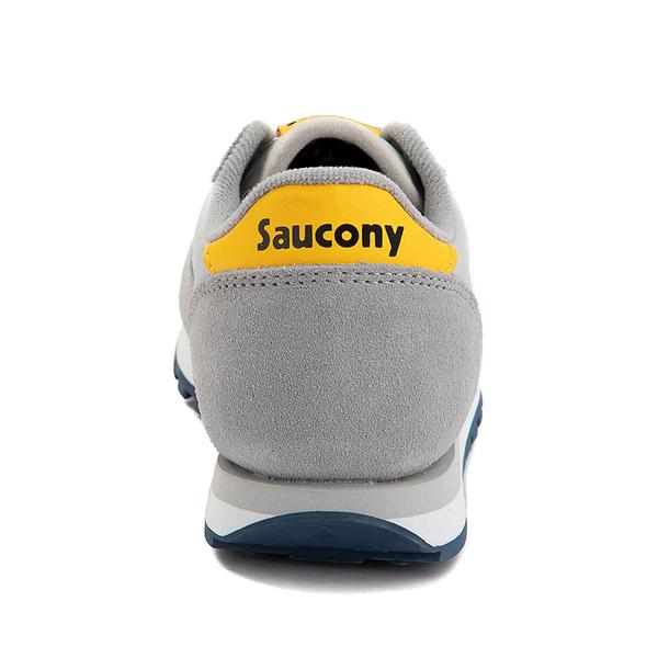 alternate view Saucony Jazz Original Athletic Shoe - Little Kid / Big Kid - Gray / Blue / YellowALT4