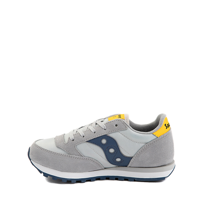 Alternate view of Saucony Jazz Original Athletic Shoe - Little Kid / Big Kid - Gray / Blue / Yellow