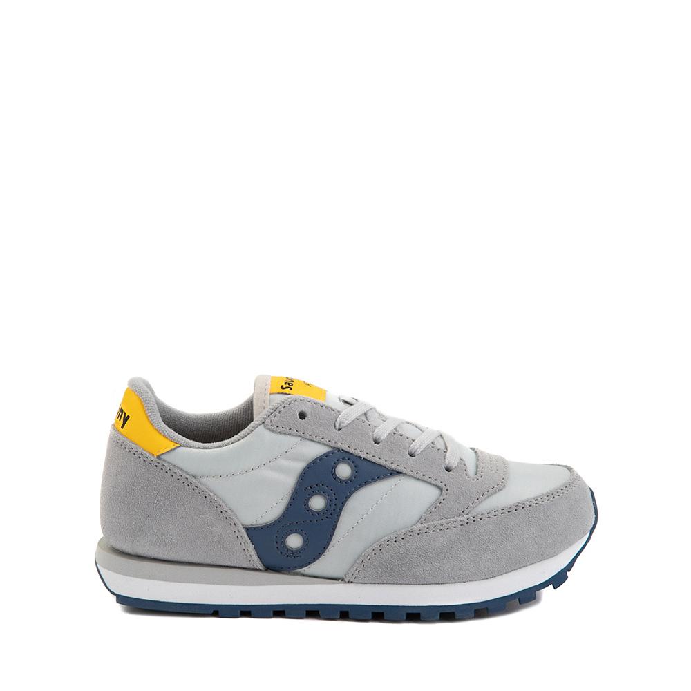 Saucony Jazz Original Athletic Shoe - Little Kid / Big Kid - Gray / Blue / Yellow