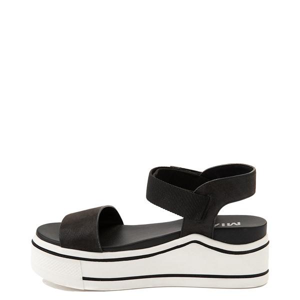 alternate view Womens MIA Odelia Platform Sandal - BlackALT1