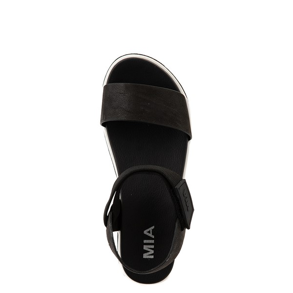 alternate view Womens MIA Odelia Platform Sandal - BlackALT2