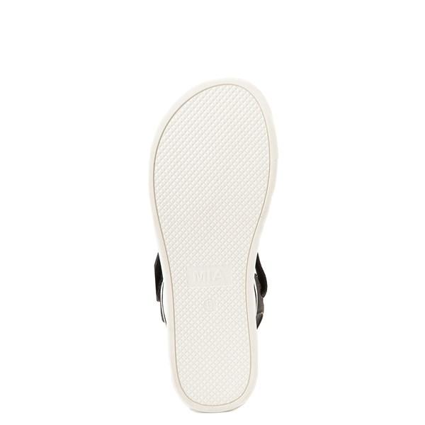 alternate view Womens MIA Odelia Platform Sandal - BlackALT3