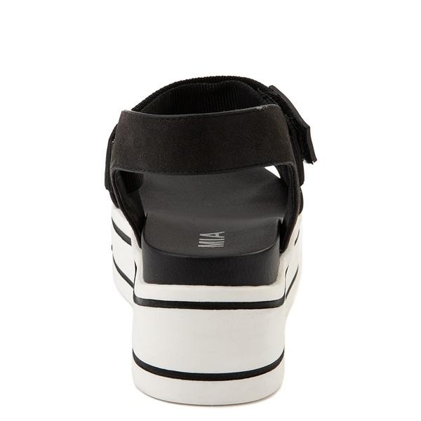 alternate view Womens MIA Odelia Platform Sandal - BlackALT4